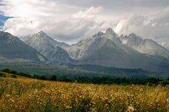 Altas montañas de Tatra, Eslovaquia Imágenes de archivo libres de regalías