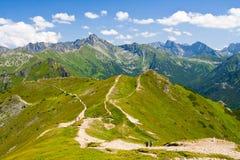 Altas montañas de Tatra, Polonia Imágenes de archivo libres de regalías