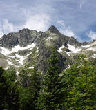 Altas montañas de Tatras, Eslovaquia imagen de archivo libre de regalías