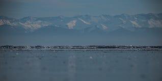 Altas montañas, Siberia, Baikal Foto de archivo