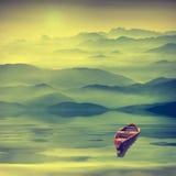 Altas montañas sunrise_4a Imagen de archivo