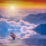 Altas montañas sunrise_2 Imagen de archivo