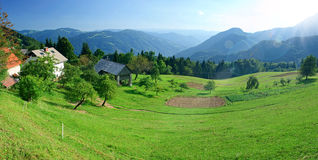 Altas montañas de Tatras en Eslovaquia Fotos de archivo