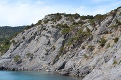 Altas rocas imagen de archivo libre de regalías