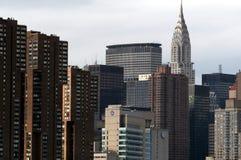 Altas subidas de Nueva York Fotos de archivo