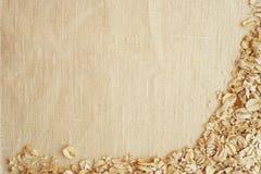 Altas texturas del fondo y del paño del detalle del paño y de cereales ásperos Fotografía de archivo libre de regalías