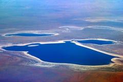 Altas vistas de Australia Foto de archivo libre de regalías