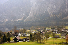Altaussee alpine village in Austria Stock Image