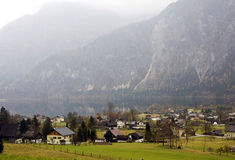 Altaussee alpine village in Austria Stock Photos