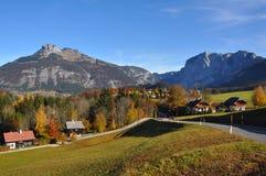Altaussee e perdente in Austria Fotografia Stock