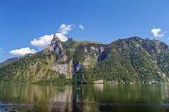 Altaussee in Stiria, Austria Immagine Stock
