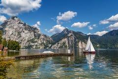 Altaussee in Stiria, Austria Fotografie Stock Libere da Diritti