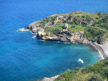 Altavilla Milicia - la spiaggia di Torre Normanna Immagini Stock