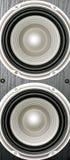 Altavoces para bajas audiofrecuencias del altavoz Fotografía de archivo libre de regalías