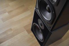 Altavoces ruidosos Foto de archivo libre de regalías