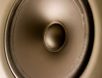 Altavoz audio Imagenes de archivo