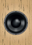 Altavoz audio imágenes de archivo libres de regalías