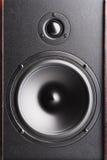 Altavoz audio. El equipo musical Imagen de archivo