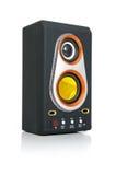 Altavoz audio y MP3-player Imágenes de archivo libres de regalías