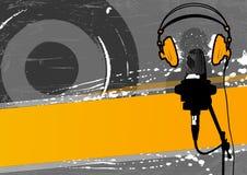 Altavoz, micrófono y cantante libre illustration