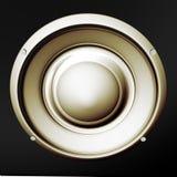Altavoz para bajas audiofrecuencias Foto de archivo libre de regalías