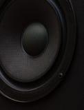Altavoz para bajas audiofrecuencias imagen de archivo
