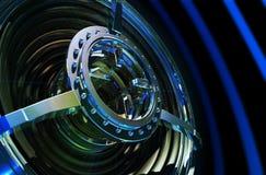 Altavoz para bajas audiofrecuencias de alta tecnología de la potencia stock de ilustración