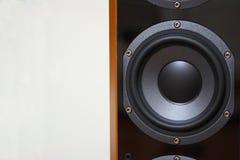 Altavoz para bajas audiofrecuencias del altavoz Imagen de archivo