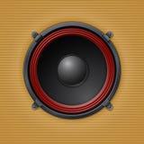 Altavoz ruidoso sano Fotos de archivo libres de regalías