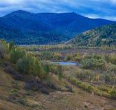 Altay βουνά στη Σιβηρία στοκ φωτογραφίες