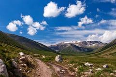 Altay τοπίο βουνών, Ρωσία στοκ φωτογραφία με δικαίωμα ελεύθερης χρήσης
