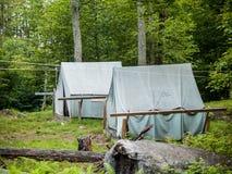 altay namioty Rosji lasu Obraz Stock