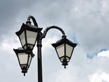 altay zdrowia belokurikha nocy kurort światło zastrzelił Siberia ulicę Obraz Stock