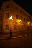 altay zdrowia belokurikha nocy kurort światło zastrzelił Siberia ulicę Zdjęcie Stock