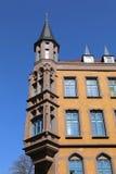 Altbau an der alten Stadt in Hannover Lizenzfreie Stockfotos