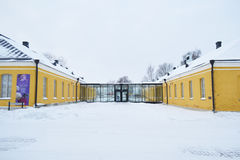 Altbau in Lappeenranta, Finnland Lizenzfreies Stockbild