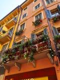 Altbau Verona Stockfotografie