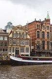Altbauten in Amsterdam, die Niederlande stockfoto