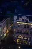 Altbauten, Ansicht von oben Stockfoto