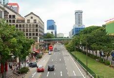 Altbauten in Chinatown stockbild