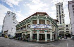 Altbauten in Georgetown in Penang, Malaysia Stockfotografie
