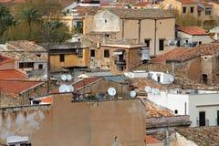 Altbauten, Palermo Stockfotos
