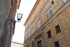 Altbauten in Pienza lizenzfreies stockbild