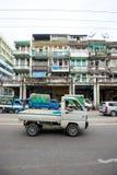 Altbauten in Rangun Lizenzfreie Stockfotografie