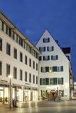 Altbauten in Ulm, Deutschland Lizenzfreies Stockbild