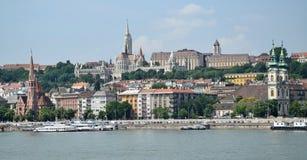 Altbauten von Budapest, Ungarn Stockbild