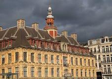 Altbestand-Börsengebäude in Lille, Frankreich Lizenzfreie Stockfotos