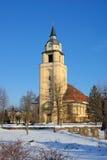 Altdobern church winter Stock Images