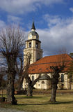 Altdoebern Church  Stock Image