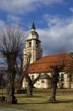 Altdoebern Church  Stock Image